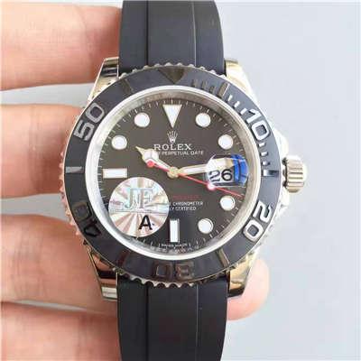 【JF厂一比一复刻手表】劳力士游艇名仕型系列116655精钢男士机械腕表价格报价