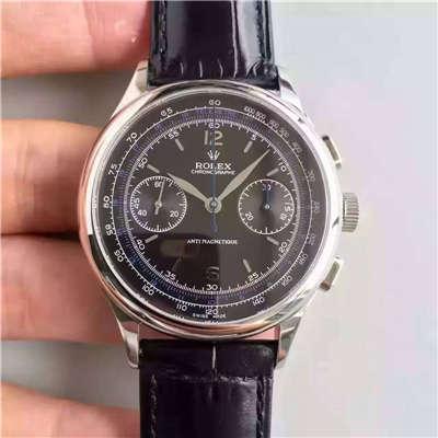 【台湾厂1:1复刻手表】劳力士复古款多功能手动计时腕表价格报价