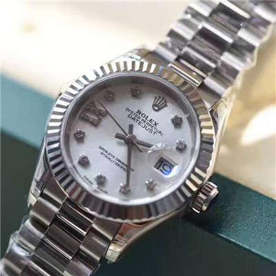 【台湾厂一比一复刻手表】劳力士新型日志型女装28mm精品女士机械