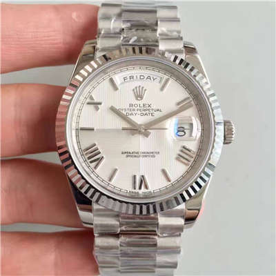 【N厂一比一超A高仿手表】劳力士星期日历型系列M228239-0046腕表价格报价