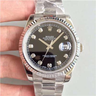 【N厂1:1复刻手表】劳力士日志型系列116334-72210 G腕表
