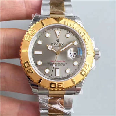 【JF厂一比一复刻手表】劳力士游艇名仕型系列16623-78763 银灰色表盘腕表价格报价