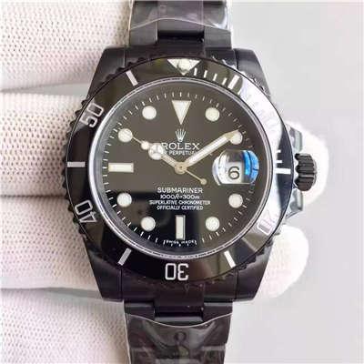 【SF厂精品】劳力士Rolex经典款Submariner,PVD特别版 1:1 超级版价格报价