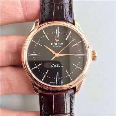 【MK厂一比一超A精仿手表】劳力士切利尼系列50505黑盘腕表价格报价