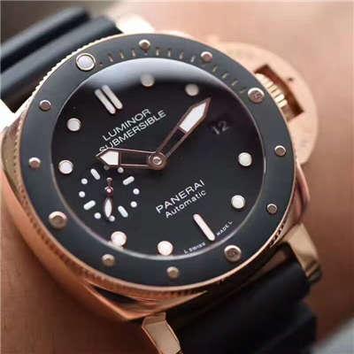 【视频评测XF一比一顶级复刻手表】沛纳海Luminor 1950系列PAM00684霍建华代言小金表价格报价