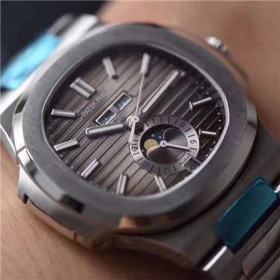 【KM厂一比一超A高仿手表】百达翡丽Nautilus运动系列5726/1A-001腕表