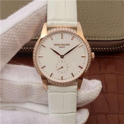 【KG厂一比一超A高仿手表】百达翡丽古典表系列7122/200R-001腕表