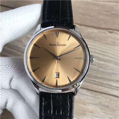 【台湾厂1:1复刻手表】积家超薄日历大师系列Q1288430腕表价格报价