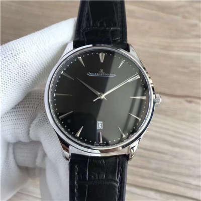 【台湾厂一比一复刻手表】积家大型超薄日历大师系列男表黑面