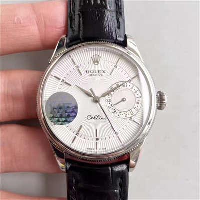 【VF厂一比一复刻手表】劳力士切利尼系列50519白盘/黑盘/玫瑰金四色可选腕表价格报价