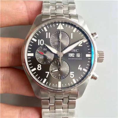 【ZF厂出品】万国飞行员系列  IW377719 喷火战机计时机械手表价格报价