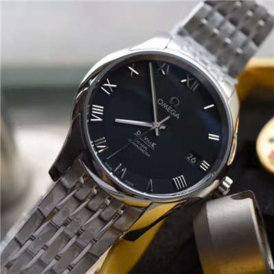 【SSS厂顶级1:1复刻手表】欧米茄碟飞系列431.10.41.21.01.001腕表 黑面价格报价
