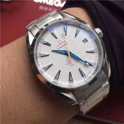【KW厂顶级厂1:1高仿手表】欧米茄海马系列231.10.42.21.02.002(金针队长)男表
