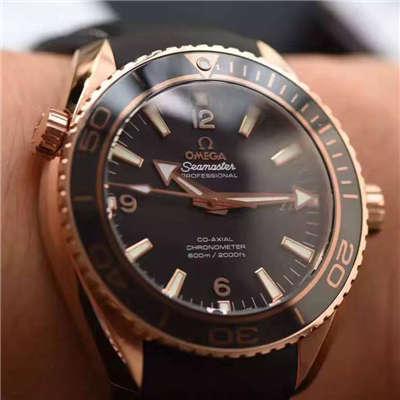 【独家视频测评KW一比一超A高仿手表】欧米茄海马海洋宇宙600米腕表系列 232.63.46.21.01.001男表
