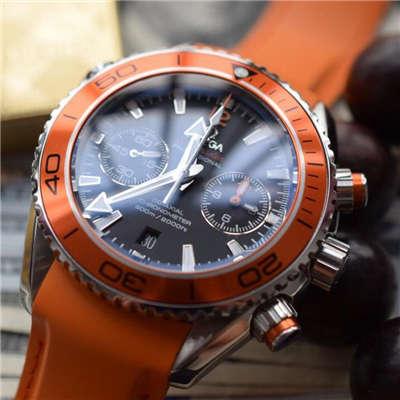 【独家视频评测KW厂1:1精仿手表】欧米茄海马系列宇宙海洋232.32.46.51.01.001男士机械腕表价格报价
