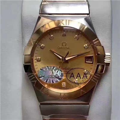 【HBBV6厂一比一超A精仿手表】欧米茄星座系列123.20.38.21.58.001腕表价格报价