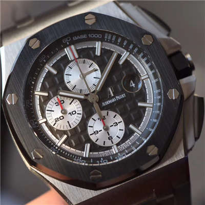 【JF厂一比一超A高仿手表】爱彼皇家橡树离岸型系列26400IO.OO.A004CA.01腕表