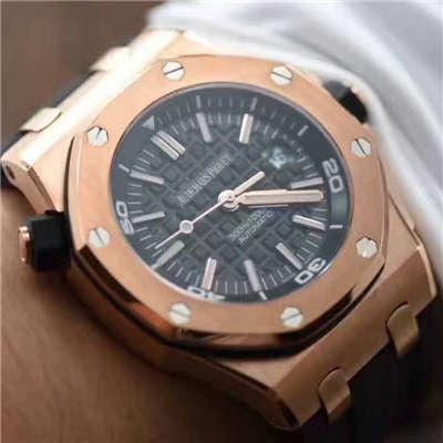 【视频评测JF厂一比一高仿手表】爱彼皇家橡树离岸型系列15709TR.OO.A005CR.01男表价格报价