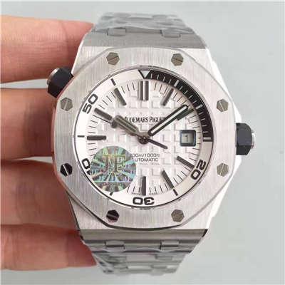 【JF厂1:1高仿手表】爱彼皇家橡树离岸型系列15710ST.OO.A002CA.02腕表《钢带款》价格报价