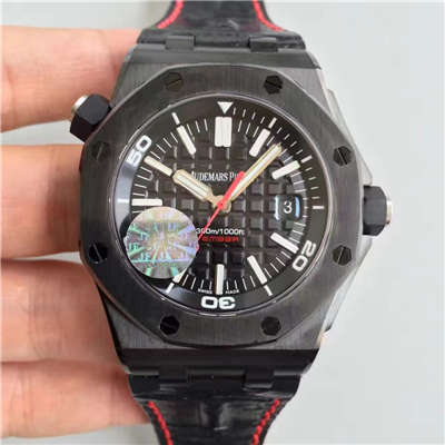 【JF厂一比一精仿手表】AP爱彼皇家橡树15703系列黑壳男表价格报价