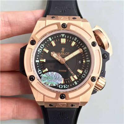 【HBBV6厂1:1顶级复刻手表】宇舶王者至尊系列4000M潜水王超级大怪兽731.OX.1170.RX腕表价格报价