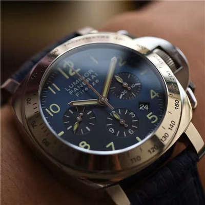 【视频解析】H厂1:1高仿手表之沛纳海PAM00224腕表《诱惑蓝面》