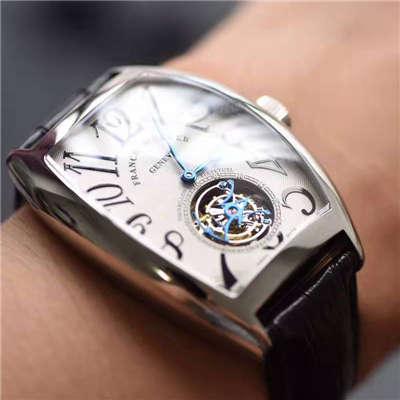 【LH厂一比一超A高仿手表】法兰克.穆勒GRAND COMPLICATIONS系列8888 T陀飞轮腕表价格报价