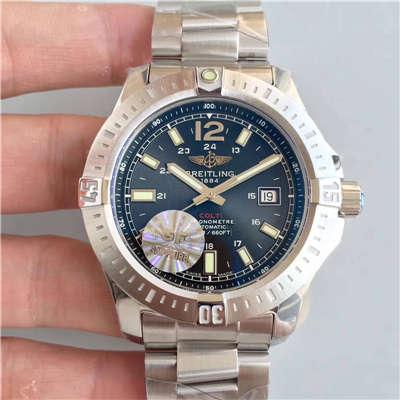 【GF厂一比一超A高仿手表】百年灵挑战者系列A1738811/BD44/173A腕表