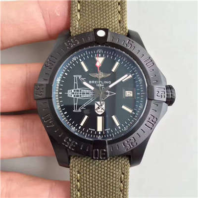【BL厂一比一超A复刻手表】百年灵复仇者二代海狼限量版纪念德国战斗机版《斯瓦尔德·伯尔克Oswald Boelcke 》