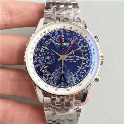 【JF厂1:1超A精仿手表】百年灵蒙柏朗计时系列A2133012-B571蓝盘腕表