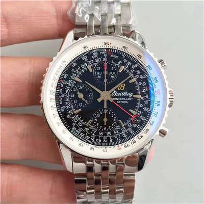 【JF厂一比一顶级复刻手表】百年灵蒙柏朗计时系列A2133012-B571黑盘腕表