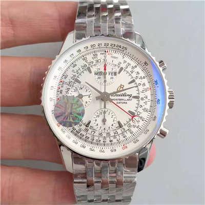 【JF厂一比一高仿手表】百年灵蒙柏朗计时系列A2133012-B571白盘腕表
