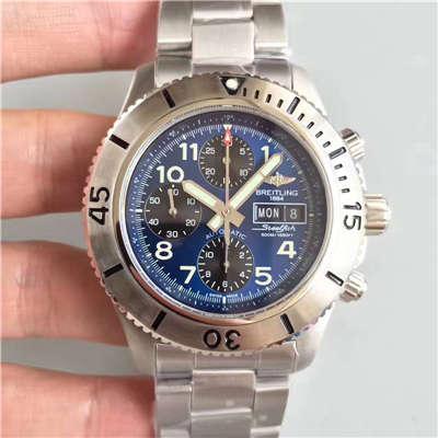 【GF厂一比一超A精仿手表】百年灵超级海洋系列A13341C3/C893/200S/A20DSA.2钢鱼计时腕表