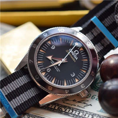 【KW厂超A精仿手表】欧米茄海马系列占士邦007特别版之幽灵党 233.32.41.21.01.001 男士机械腕表
