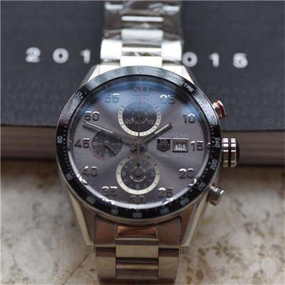 【视频评测HBBV6厂1:1顶级复刻手表】泰格豪雅卡莱拉系列CAR2A11.BA0799腕表价格报价