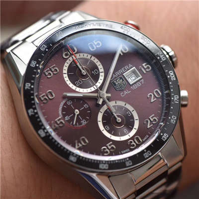 【HBBV6厂一比一精仿手表】泰格豪雅卡莱拉系列CV2013.BA0786腕表