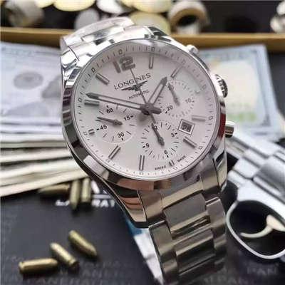 【视频评测YL厂1:1顶级复刻手表】浪琴康铂系列L2.786.4.76男表