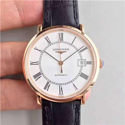 【台湾厂一比一超A精仿手表】浪琴制表传统博雅系列L4.787.8.11.0腕表价格报价