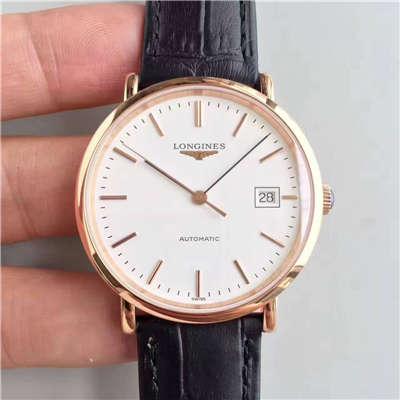 【台湾厂1:1超A精仿手表】浪琴博雅系列L4.787.8.12.0腕表