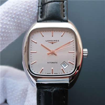 【MK厂1:1超A高仿手表】浪琴复古传统系列L2.310.4.72.0腕表价格报价