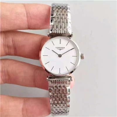 【MK厂超A高仿手表】浪琴优雅系列L4.209.4.11.6女士腕表