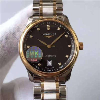 【MK厂一比一超A高仿手表】浪琴名匠系列L2.628.5.57.7腕表价格报价
