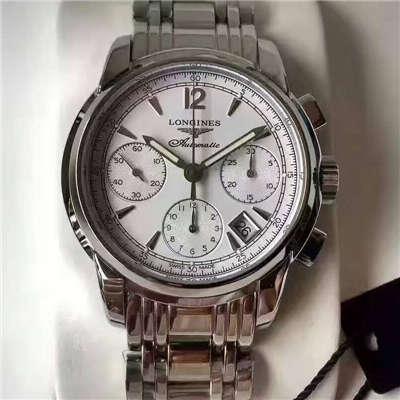 【台湾厂TW一比一超A精仿手表】浪琴制表传统 SAINT-IMIER索伊米亚系列L2.753.4.72.6腕表