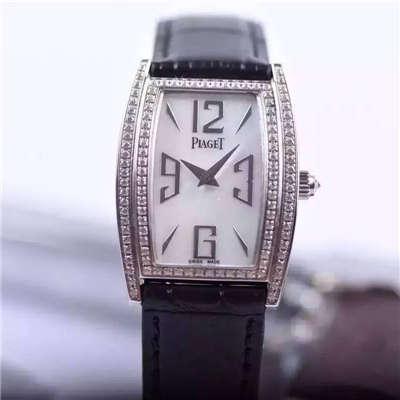 【实拍图鉴赏】特价绝美精致伯爵LIMELIGHT系列G0A36191腕表酒桶女装手表