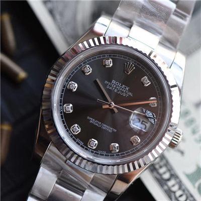 【视频评测NOOB厂1:1高仿手表】劳力士日志型系列M126334-0005腕表