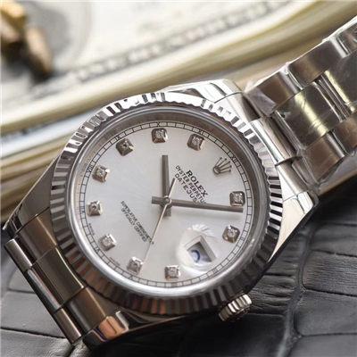 【N厂1:1超A高仿手表】劳力士日志型系列116334-72210 G腕表价格报价