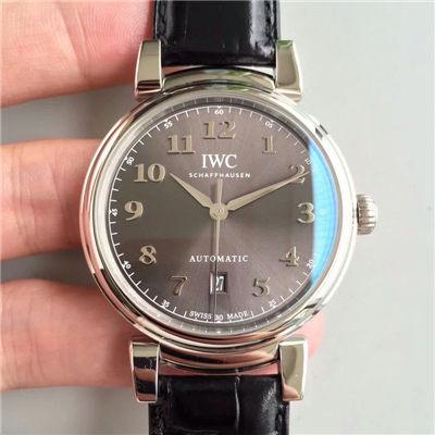 【MK一比一超A高仿手表】万国达文西系列IW356601 《白面》IW356602《灰面》腕表价格报价
