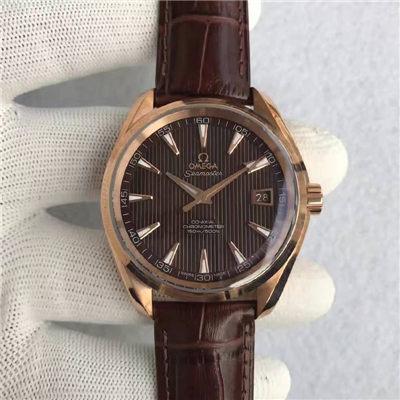 【KW一比一超A高仿手表】欧米茄海马系列231.53.42.21.06.001腕表价格报价
