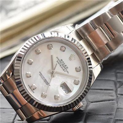 【N厂1:1超A高仿手表】劳力士日志型系列M126334-0020腕表价格报价