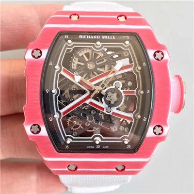 【RM厂一比一超A高仿手表】里查德米尔RICHARD MILLE男士系列RM 67-02 Mutaz Essa Barshim腕表